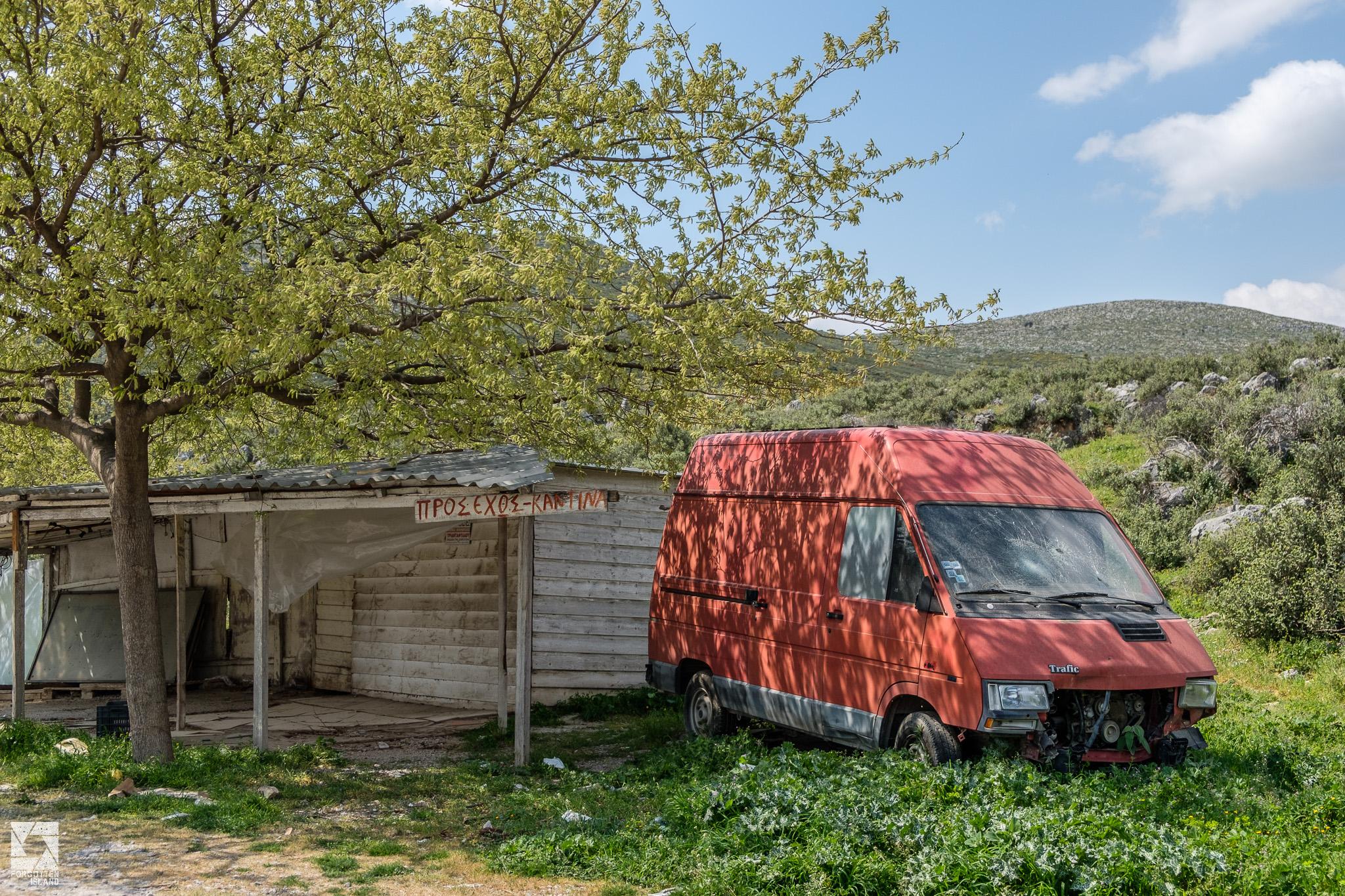 Abandoned Greek Cars