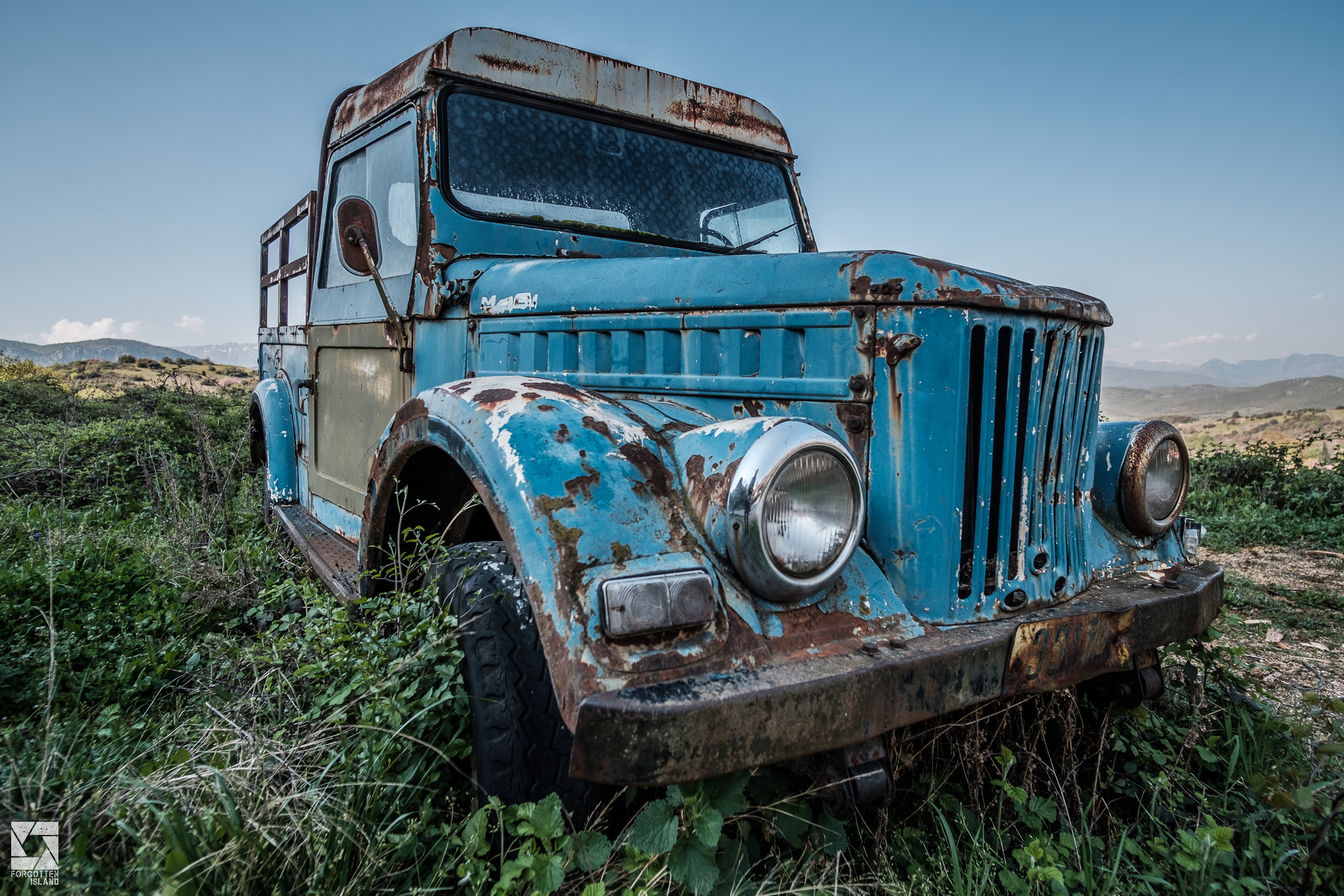Greek Cars part 1 - Rust