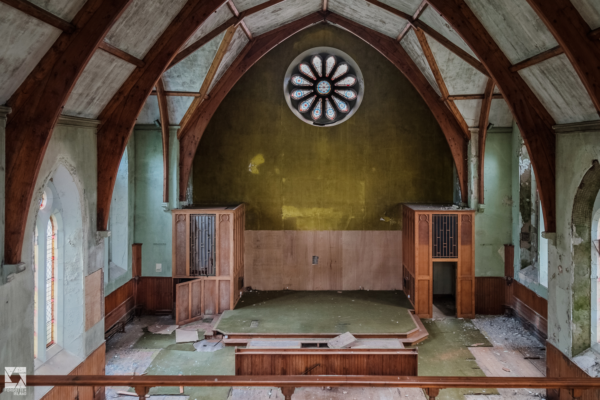 Abandoned Kirk in Scotland