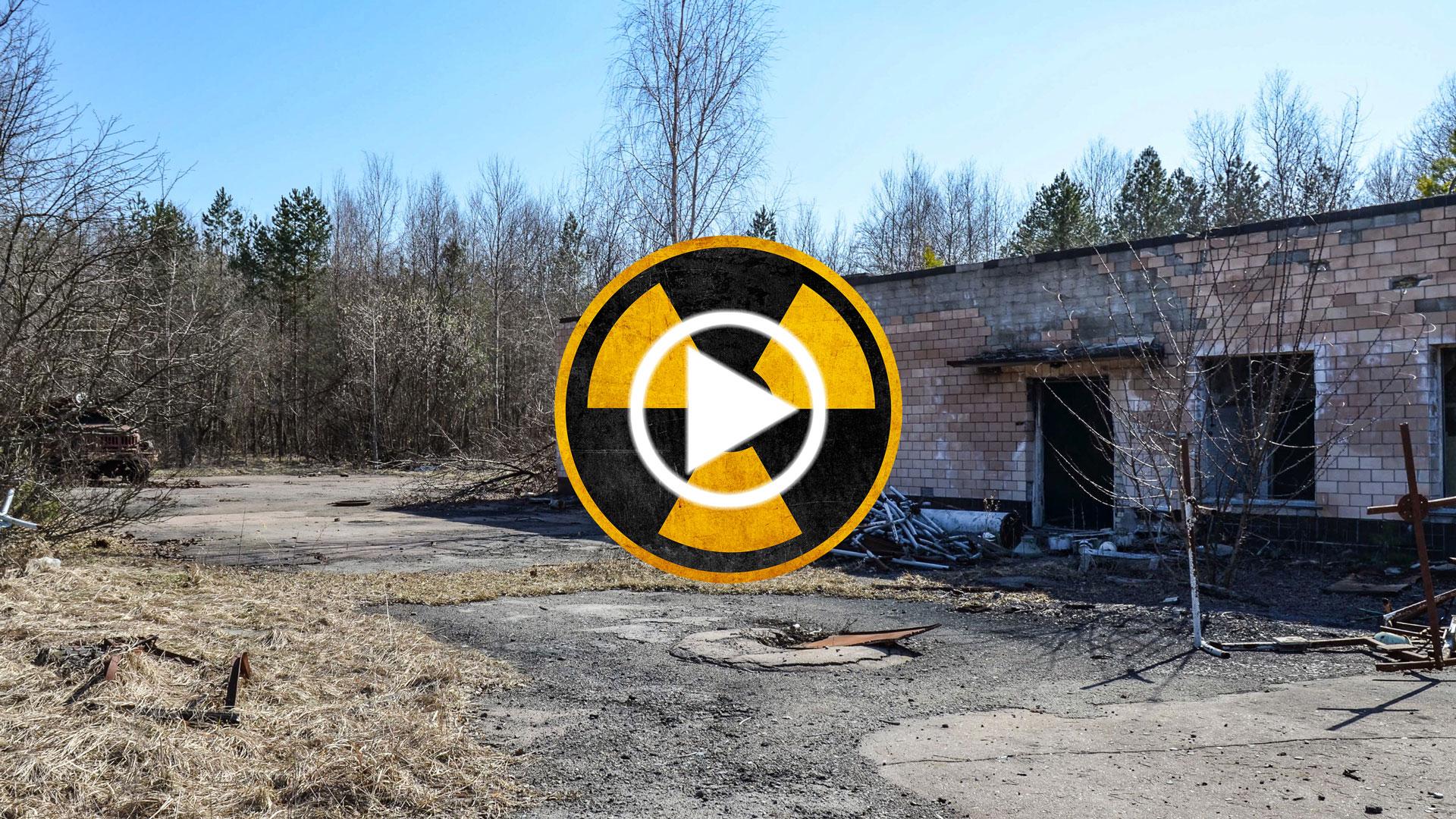 Krug Antenna Circle in the Chernobyl Zone