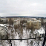 Climbing Pripyat Stadium Light Tower (Video)