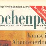 Tschernobyl: Die Lügenkampagne der DDR - Wochenpost 18 04 1996