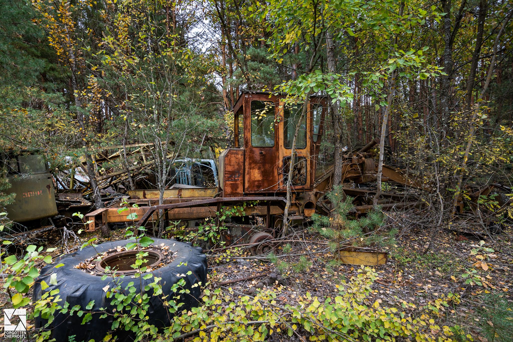 ATH 2 garage and repair facility near Pripyat