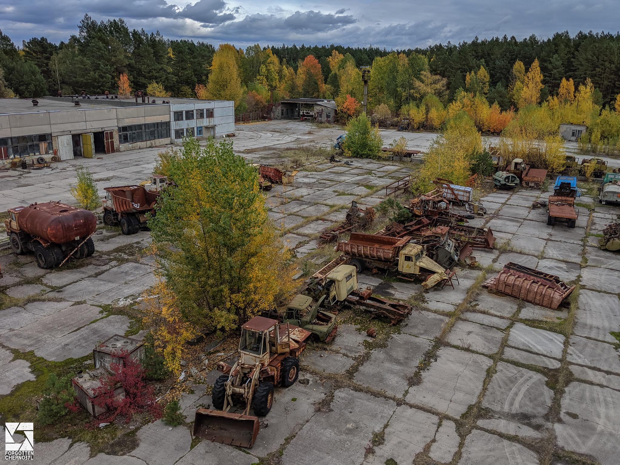 ATH 2 (ATX 2) garage and repair facility near Pripyat