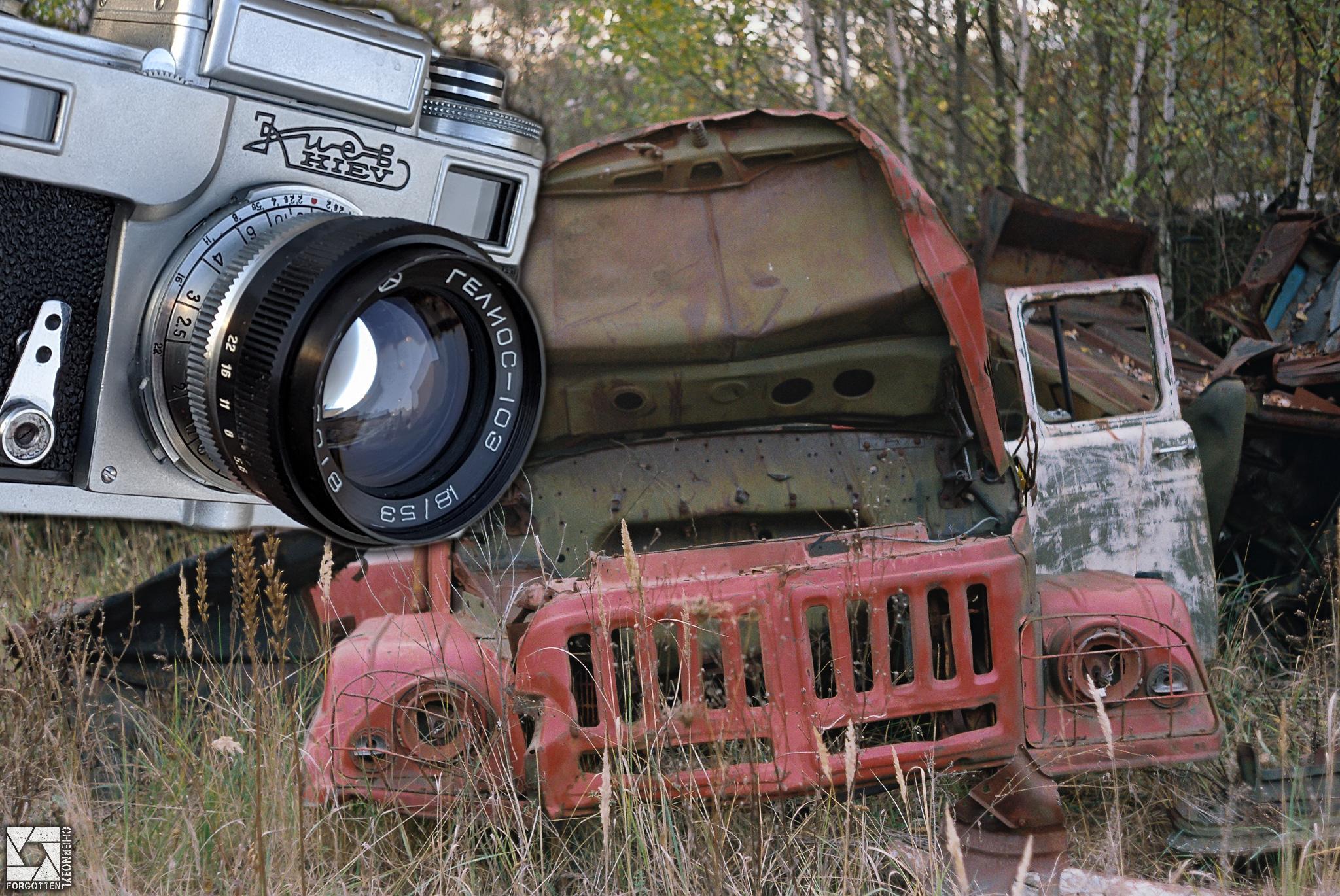 Analog Chernobyl Part 4 - Duga radar and Rossokha Vehicle Graveyard