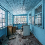Blue Cottage in the Chernobyl Zone