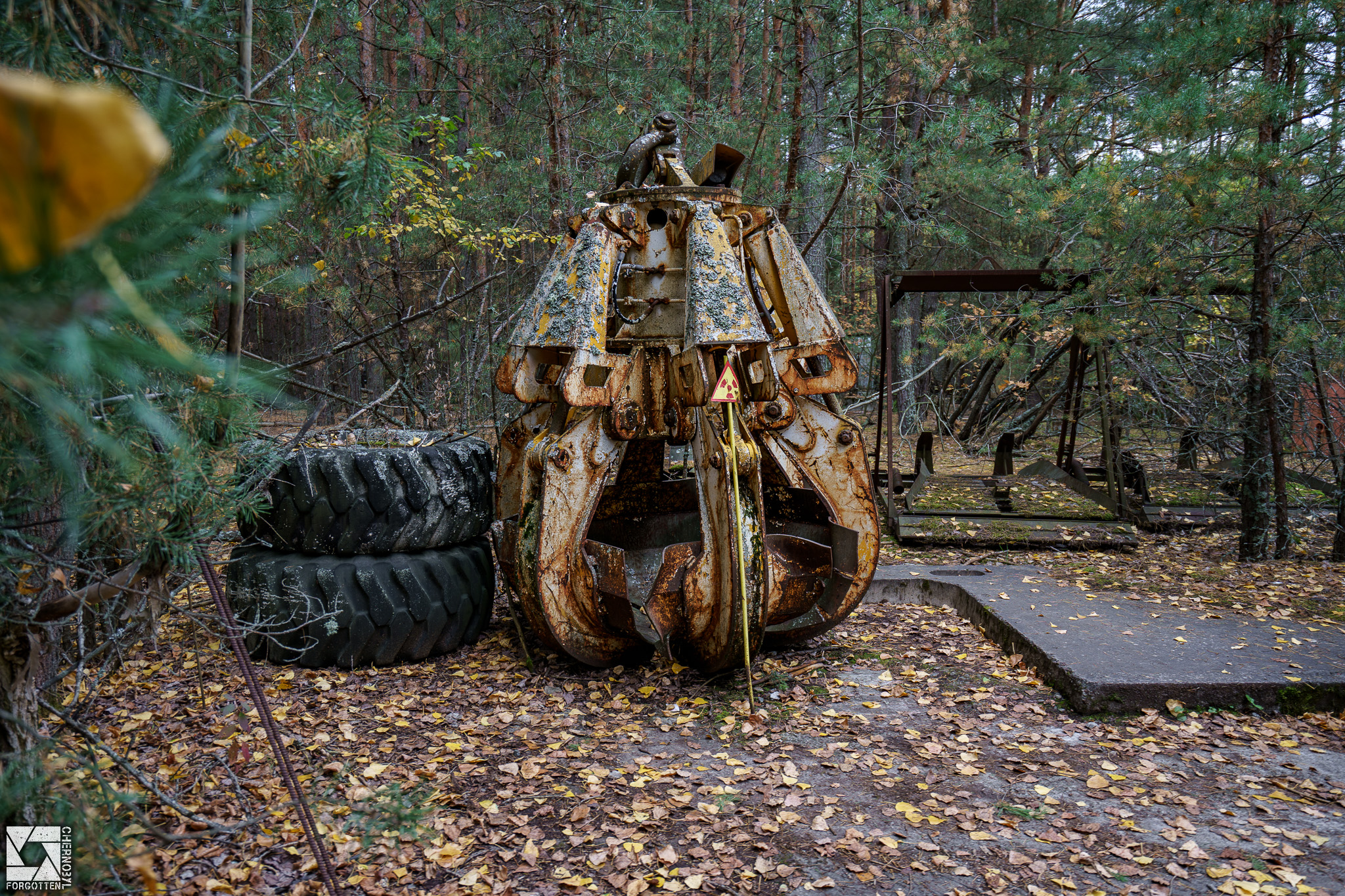 Radioactive Crane Claw in Chernobyl