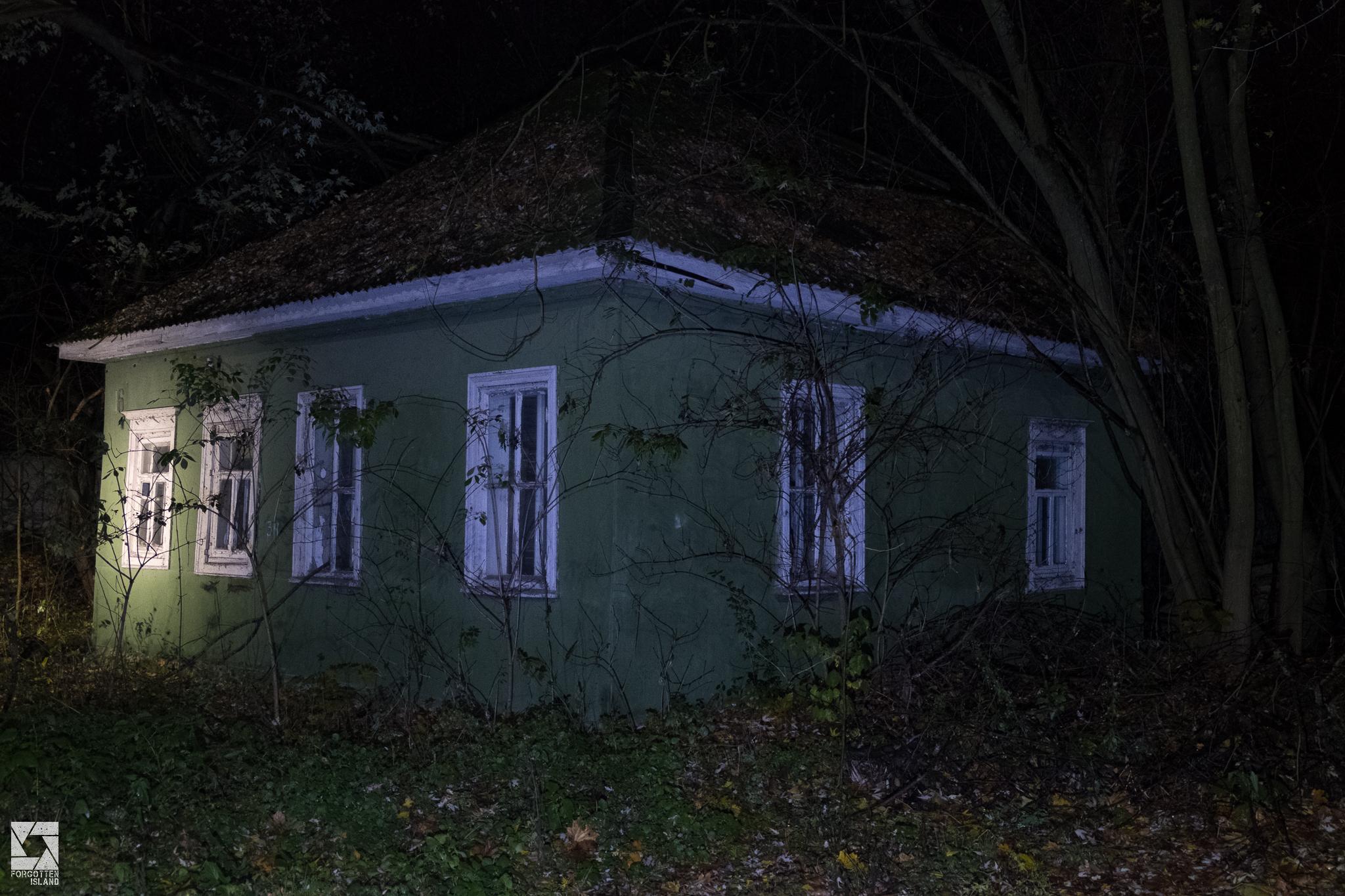 Chernobyl Town At Night
