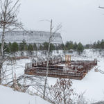 Chernobyl Cooling Towers in Winter