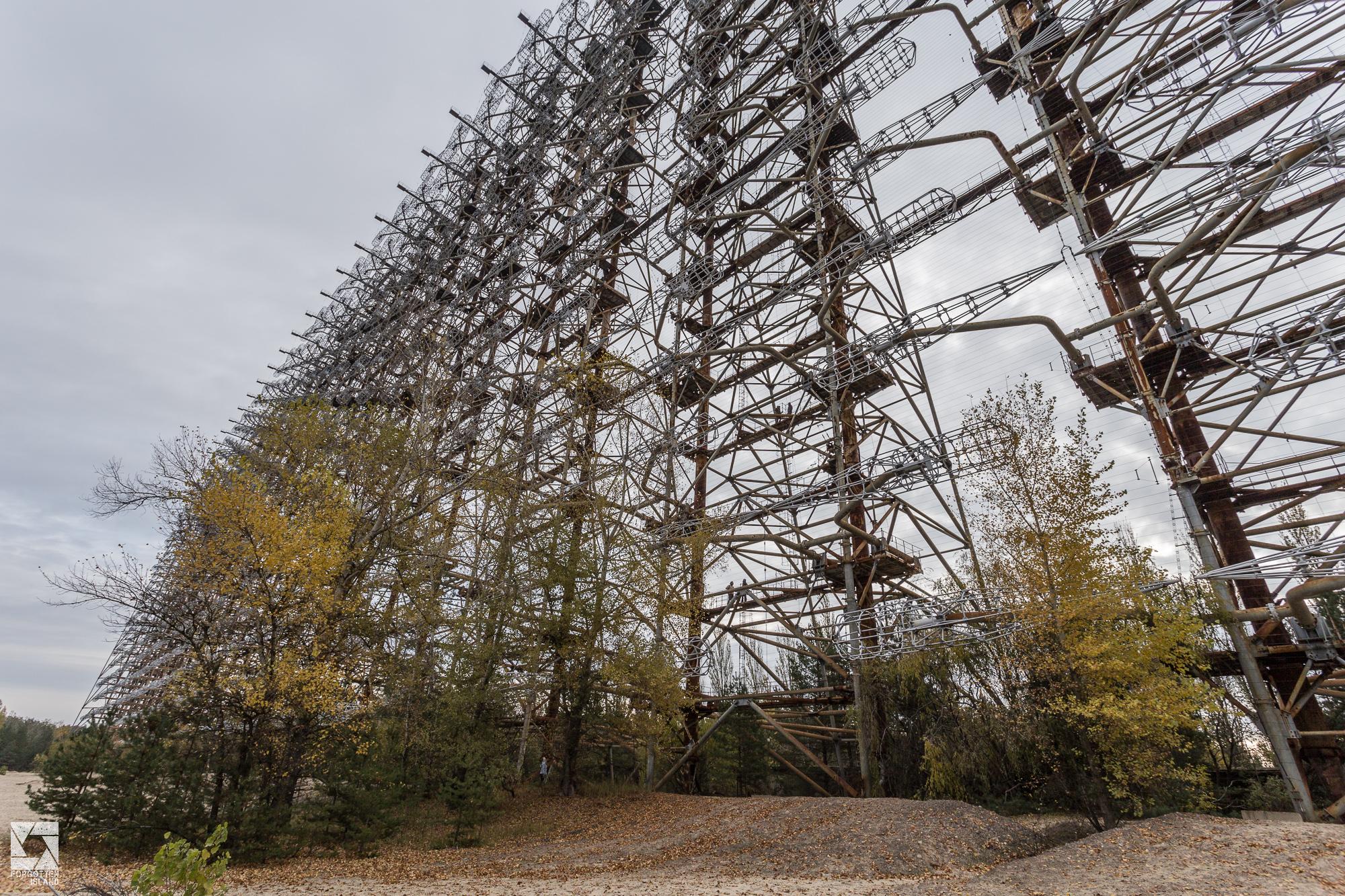 "Duga the ""Russian Woodpecker"" radar and control rooms"