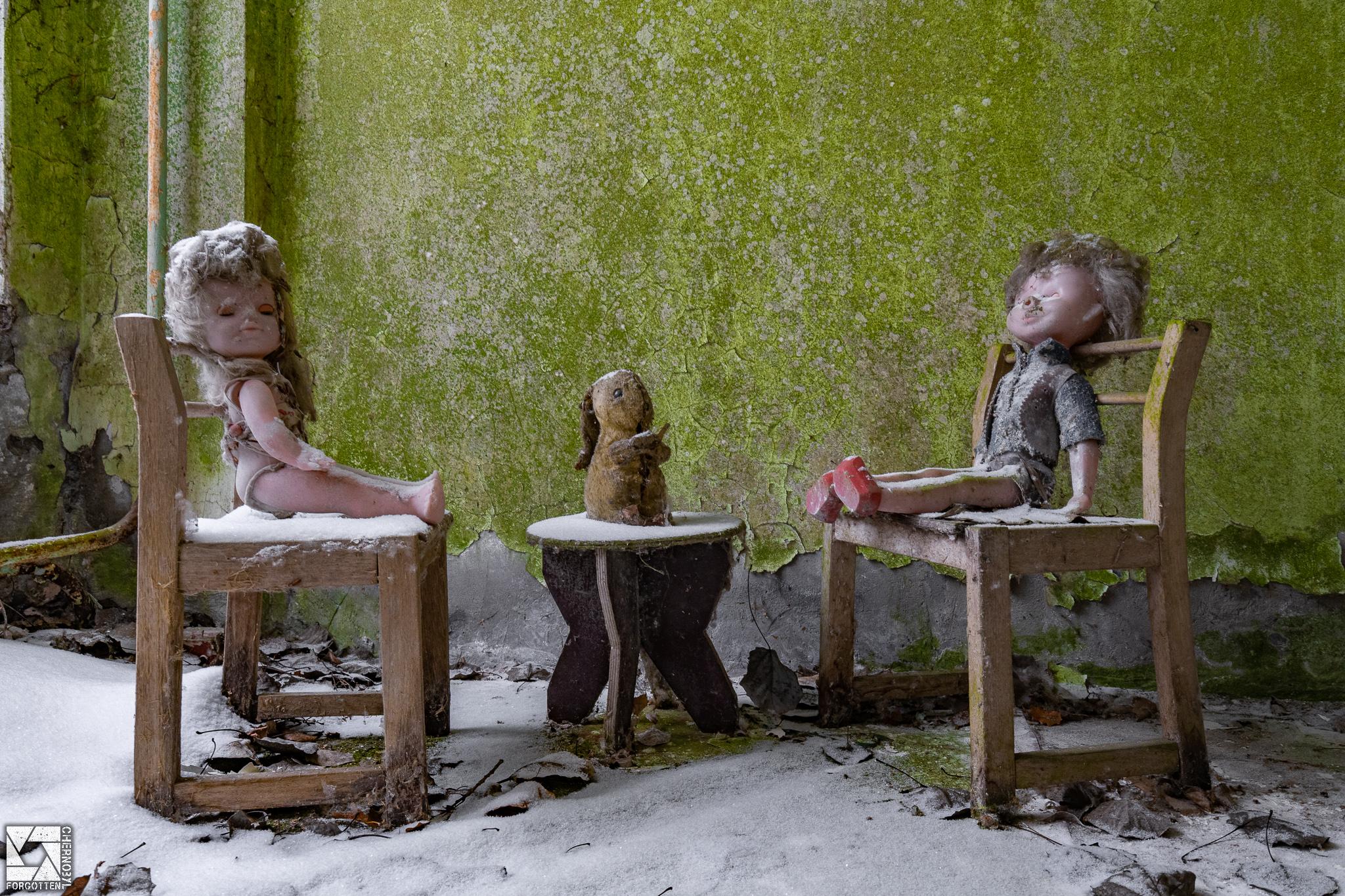 """Goldfish"" Kindergarten No. 13 in Pripyat"