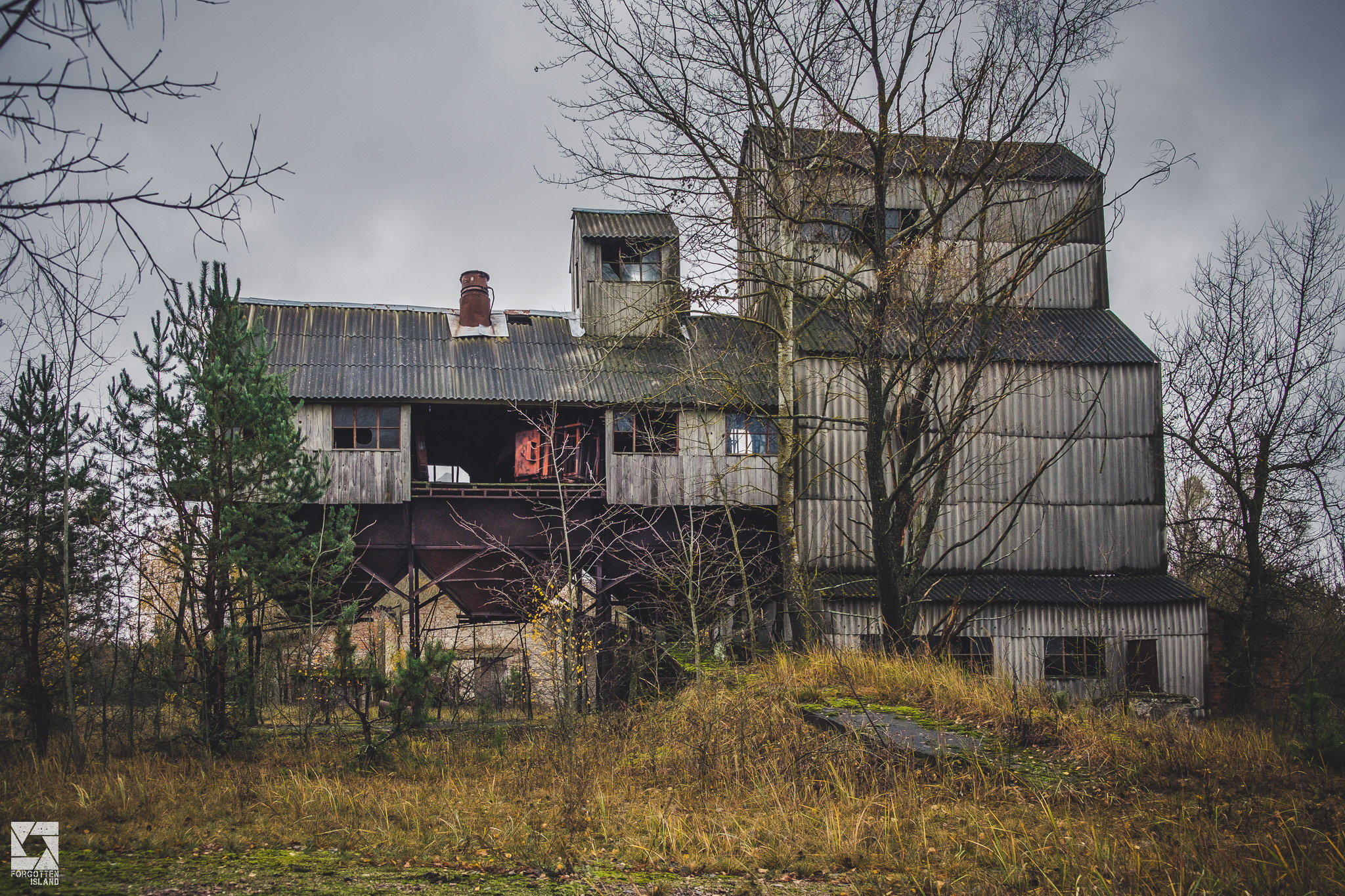 Grain Mill near Zymovyshche village