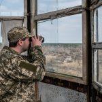 Chernobyl Zone Fire Lookout Tower in Paryshev village