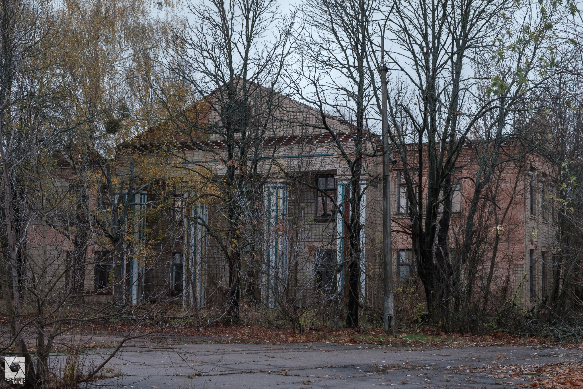 Poliske town in the Chernobyl Zone