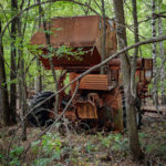 Abandoned Farm Machinery in Pripyat