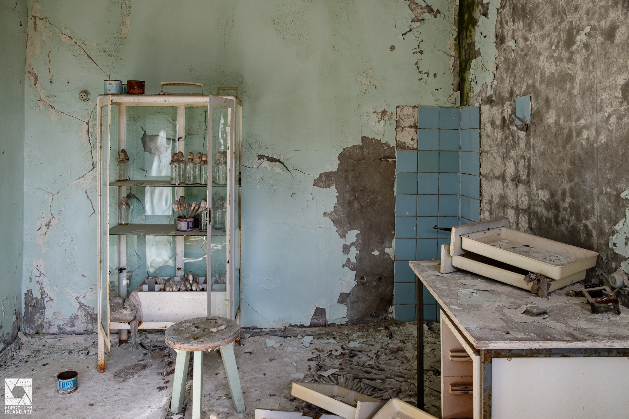 Sanitary and Epidemic Station in Pripyat