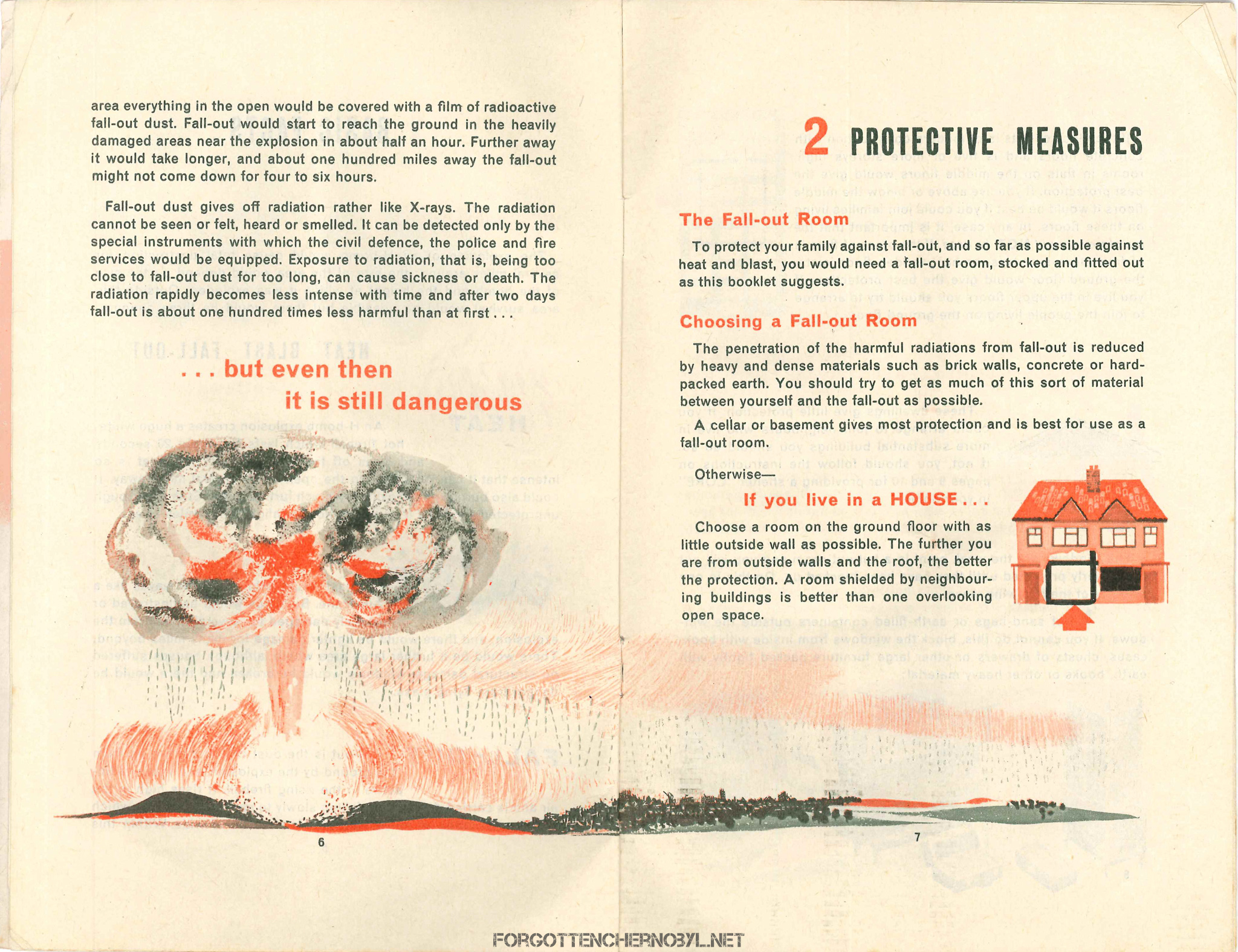 Advising the Householder on Protection against Nuclear Attack booklet