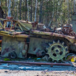 Rossokha Vehicle Graveyard in the Chernobyl Zone [Part 1]