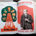 "Illustrations from the Soviet Propaganda Magazine ""Agitator"""