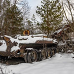 Abandoned Military Vehicles Near Yaniv Station