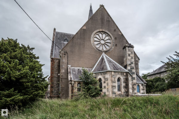 Abandoned Old Kirk in Scotland