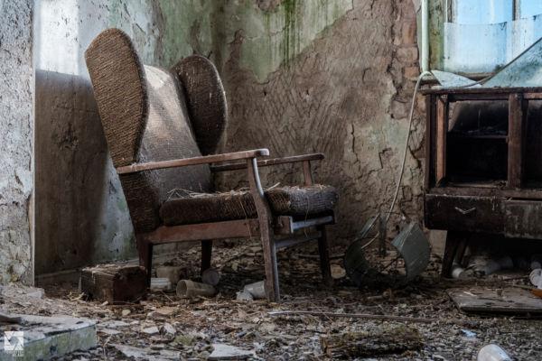 Abandoned Cottage in Scottish Borders