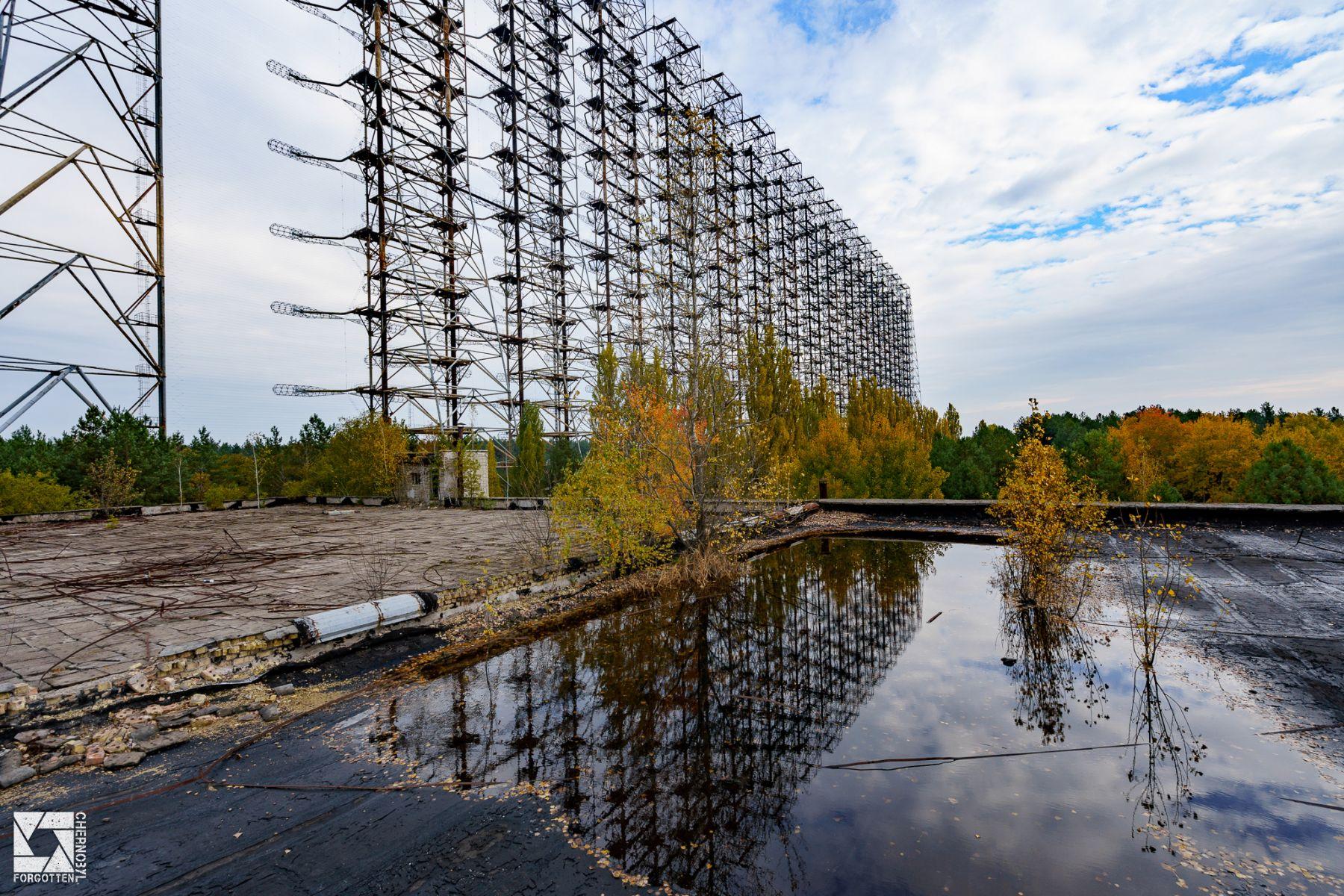 Duga Radar Electrical Substation