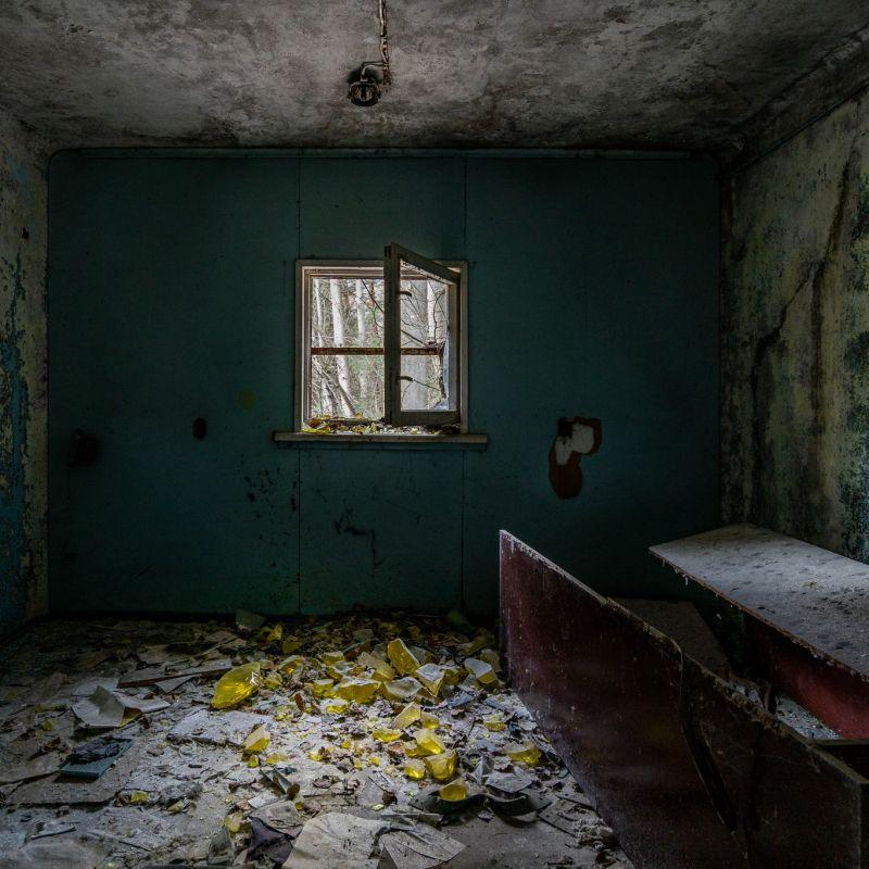 Old Pripyat Checkpoint