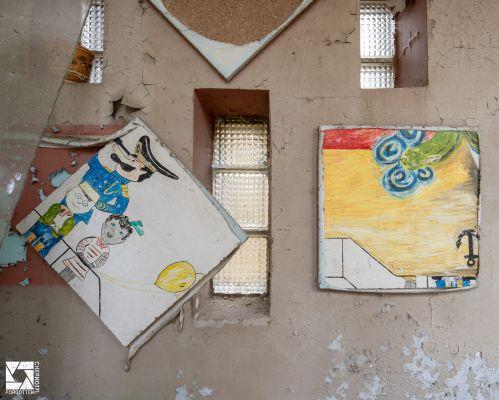 Kindergarten No 6 Druzhba (Friendship) in Pripyat