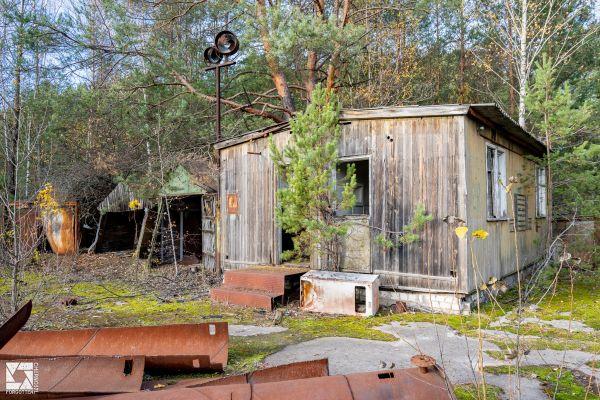 Garages in Pripyat