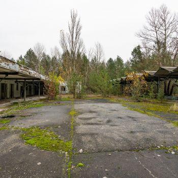 Marketplace in Pripyat
